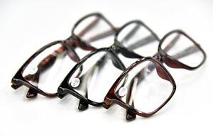 High Quality Fashion Unisex Stylish Reading Glasses ALL METAL SPRING HINGES DX1