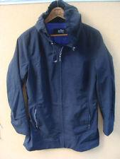 Kristen Blake Metro Women's Black Coat Jacket w/ Hood Size Medium