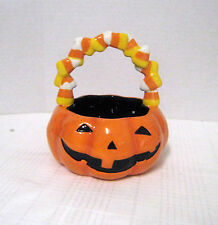 Halloween Pumpkin Candy Dish