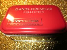 Daniel Cremieux Collection Victorinox Swiss Army Card Equipped Box Tin Set NEW