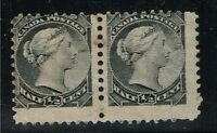 Canada Scotts# 34 Pair - Mint Hinged - Lot 122015
