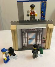 LEGO 1376 Minifigs Bank Robber Director Camera Back Drop-Support Frame Lot