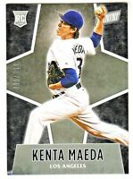 2016 Panini Black Friday #67 KENTA MAEDA RC Rookie #/399 Dodgers QTY AVAILABLE