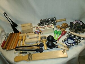 HUGE lot of percussion musical instruments