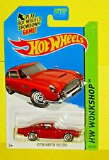 2015 Hot Wheels Workshop #245 Aston Martin 1963 DB5 - Then and Now