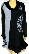plus sz S (16 - 18) TS TAKING SHAPE Vice Versa Tunic drape light knit Top NWT!