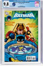 Batman Brave and the Bold #20 CGC 9.8 - LOW print run, highest grade on census (