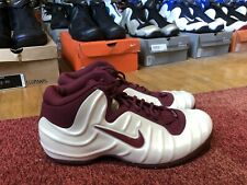 DS Sz 11.5 Nike Pureposite Pearl / Maroon TB - aIr  mAx LE PE FoAmPoSiTe ONE RED