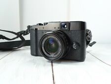 Fuji X10 Digital Camera Fujifilm X-10 with Leather Case and Strap NICE