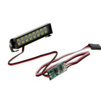 RC Cler LED Lichtleiste Scheinwerfer für Traxxas 4 Axial SCX10 90046 D90 Ta W2D5