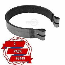 """2 Pack ) Brake Band Carter Brothers G449 Go-Karts 4-3/4"""" Includes Pin Free Ship"""