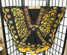 #F2 Indian Rayon Festival Boho Hippie Batik Mirror Top Free size Womens