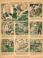 Image d'Epinal les romans de Jules Verne 1978 office tourisme Nantes J. Bruneau