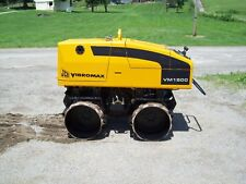 """JCB VIBROMAX VM1500 (""""ONLY 95 HOURS"""") VIBRATORY REMOTE CONTROLLED TRENCH ROLLER"""