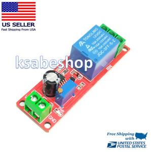 DC 12V NE555 Time Delay Relay Shield Timer Control Switch Adjustable Module Sec