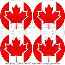 KANADA Kanadier Stoßstange Helm Vinyl Sticker Aufkleber 50mm x4