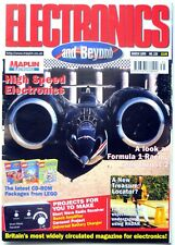 Land Speed Record: Thrust SSC Project, Electronics and Beyond, March 1999