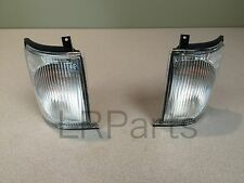 LAND ROVER DISCOVERY 2 II 99-02 FRONT CLEAR INDICATOR LAMP LIGHT LH RH SET NEW