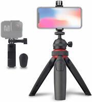 OptixMania Camera/ActionCam/Smartphone Tabletop Tripod with Wireless Shutter