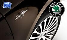 Genuine SKODA Laurin & Klement emblem chrome  All models