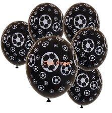 Soccer Ball Football Latex Helium Balloon X 6 Sports Party Decoration