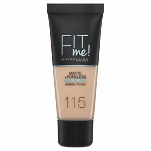Maybelline Fit Me Matte & Poreless Foundation - 115 Ivory