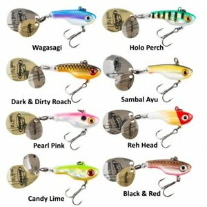 Berkley NEW Pulse Spintail Fishing Lure - Pike Perch - Various Colours / Sizes