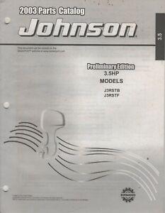 2003 JOHNSON OUTBOARD 3.5 HP PARTS MANUAL 5005311 (134)
