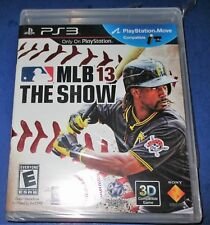 MLB 13: The Show (Sony PlayStation 3, 2013) PS3 GAME COMPLETE BASEBALL YANKEES