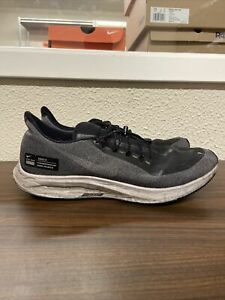 Nike Air Zoom Pegasus 35 Shield Black Grey Running Training AA1643-001 Size 11.5