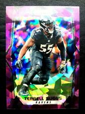 2017 Prizm Purple Cracked Ice Prizm Non Auto Terrell Suggs /75