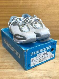 Shimano SH-WF21 Women's Cycling Bike Shoe EU 44 US 11.2 White SPD