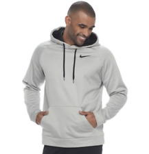 NIKE MEN'S - SIZE 4XL - THERMA FIT TRAINING PULLOVER HOODIE 833310 012 NWT GREY