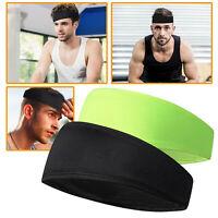 Women Men Moisture Wicking Headband Sweatband Sport Headbands Yoga Gym Fitness