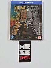 Mad Max Fury Road Black & Chrome Edition Blu-ray Steelbook (Import) Region Free
