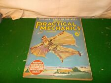 1936  NEWNES PRACTICAL MECHANICS ,WIRELESS,SCIENCE, PHOTOGRAPHY, TECHNO, HOBBIES