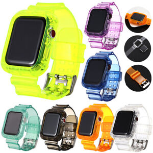 Silicone Band Strap For Apple Watch iWatch Series SE 6 5 4 3 2 1 38/40mm 42/44mm