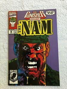 'Nam #52B (Jan 1991, Marvel) 2nd Printing FN 6.0