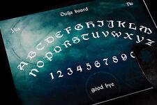 Wooden Ouija Spirit Board game & Planchette EVP Ghost hunt Magick Bizarre Spooky