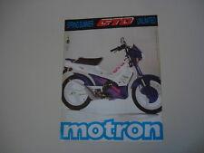 advertising Pubblicità 1992 MOTRON GTO
