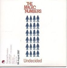 (AF766) The Magic Numbers, Undecided - DJ CD