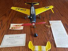 Sabre Model.Vcomet Sabre 44 (1950's) Gas Model Plane. (Rare).Airplane!