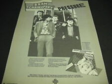 BRAM TCHAIKOVSKY June 1980 PRESSURE Tour Dates PROMO POSTER AD mint condition
