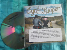 Cyndi Lauper Walkin' After Midnight Promo CDr Single