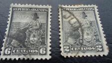Argentinien, Republica Argentina, Stamps, 1905, 6 Centavos + 2 Centavos, gest.