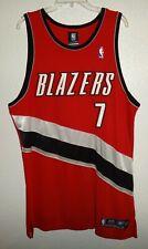 48 Authentic Reebok Portland Trail Blazers Jack Daniels Basketball Game Jersey