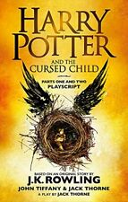 Harry Potter and the Cursed Child - Parts One by J.K. Rowling New Paperback Book