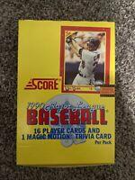 1990 Score Baseball Wax Box (36 Packs)