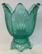 Fenton Art Glass Robin Egg Blue Two Way Votive / Candle Holder