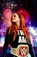 WWE Becky Lynch Fireworks Poster! LAST ONE!!!